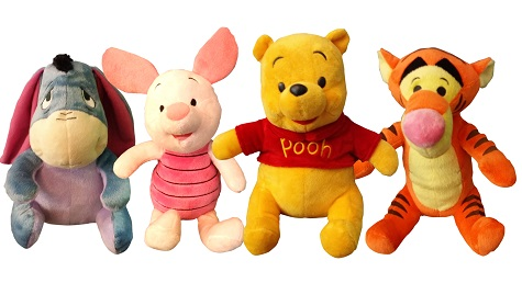 DisneyBaby Plush by Sun Shing (Each retails at SGD19.90)