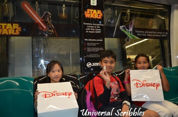 FUN: Ride With Disney Characters On Singapore Trains