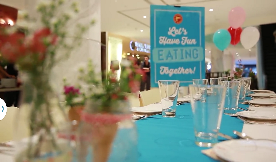 Let's Have Fun Eating Together Video