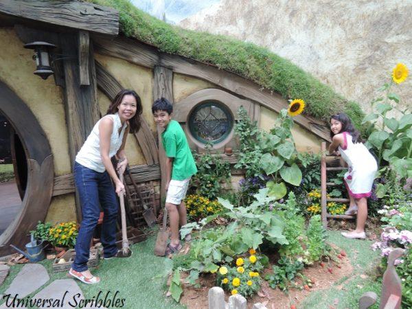 Airport Hobbit Garden