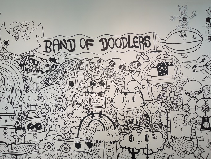 Band of Doodlers Singapore Art Museum