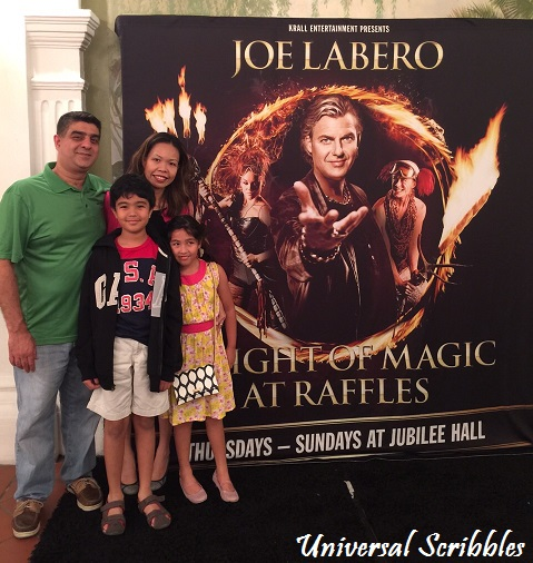 A Night of Magic With Joe Labero – Review & Giveaway