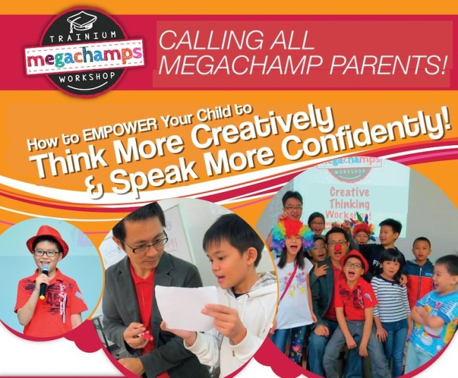 Workshop: Empower Your Child To Think Creatively and Speak Confidently