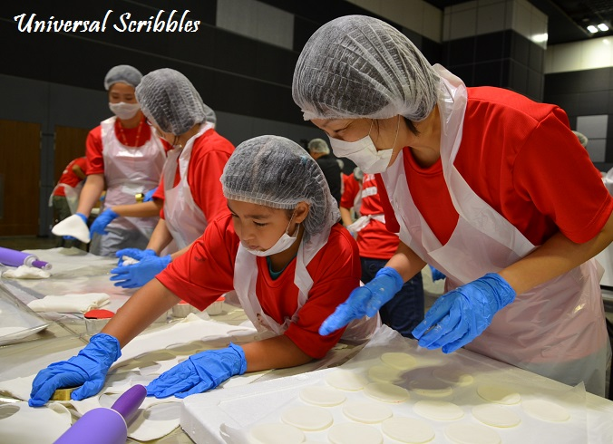 World's Largest Cupcake Mosaic for SG50 by Betty Crocker