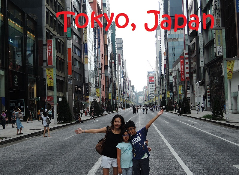 Travelling With Kids: Tokyo, Japan