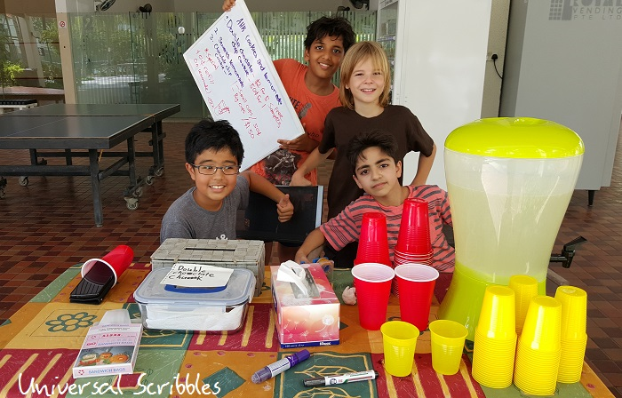 Business 101 for Kids: Lemonade and Cookie Stand
