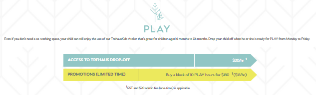 trehaus pricing model for play