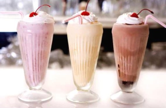 Milkshakes With Régilait Milk Powder