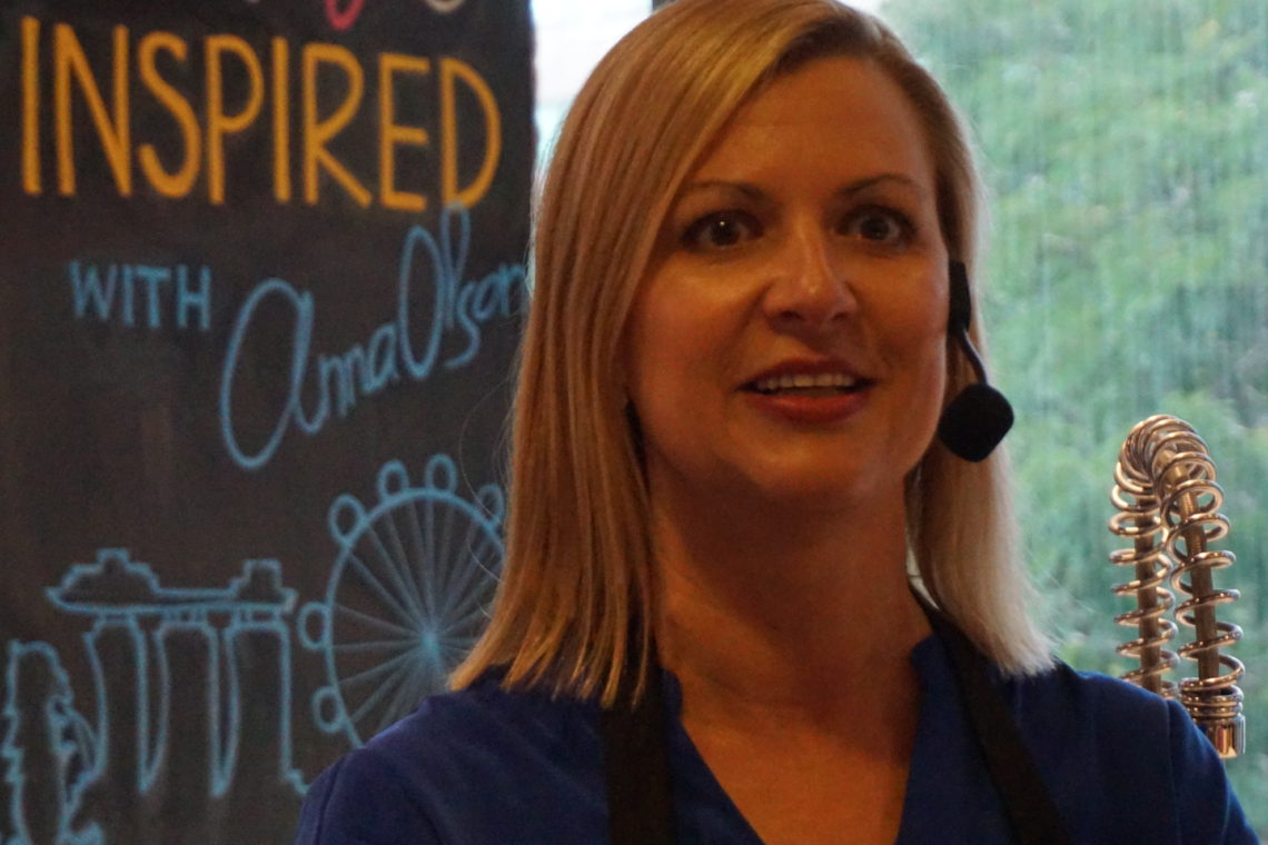 Master Cooking Class With Celebrity Chef Anna Olson