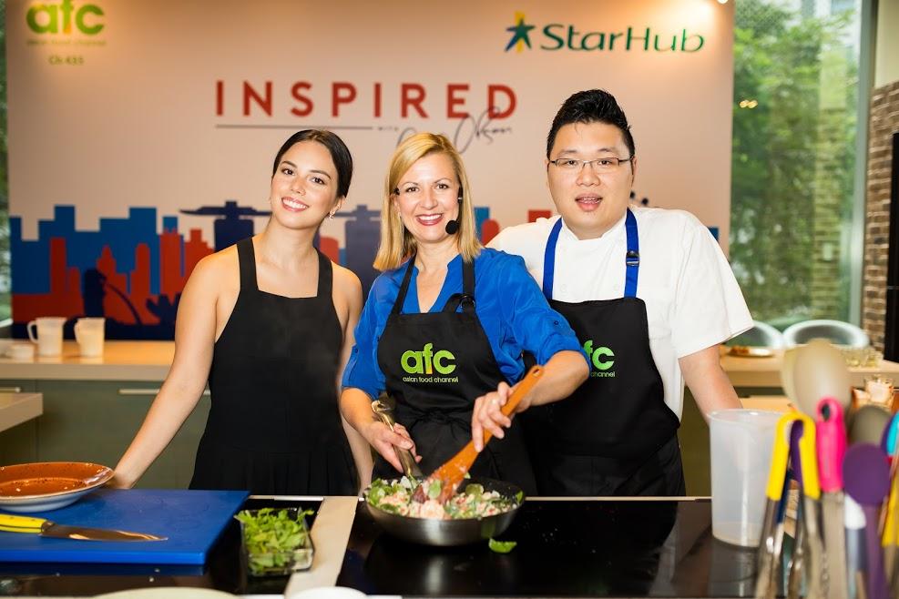 Sarah Benjamin, Anna Olson and Chef Daniel