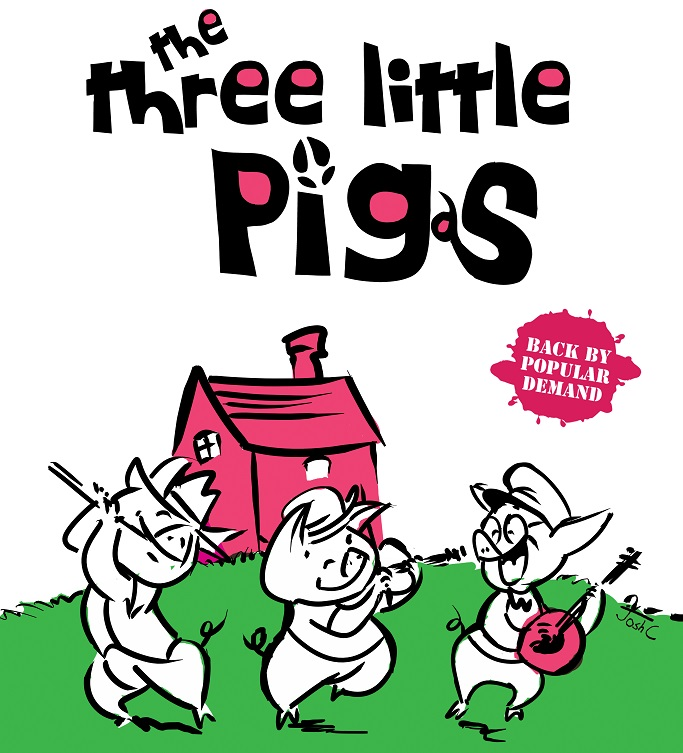 Cha, Siu and Bao — The Three Little Pigs Who Stole Our Hearts