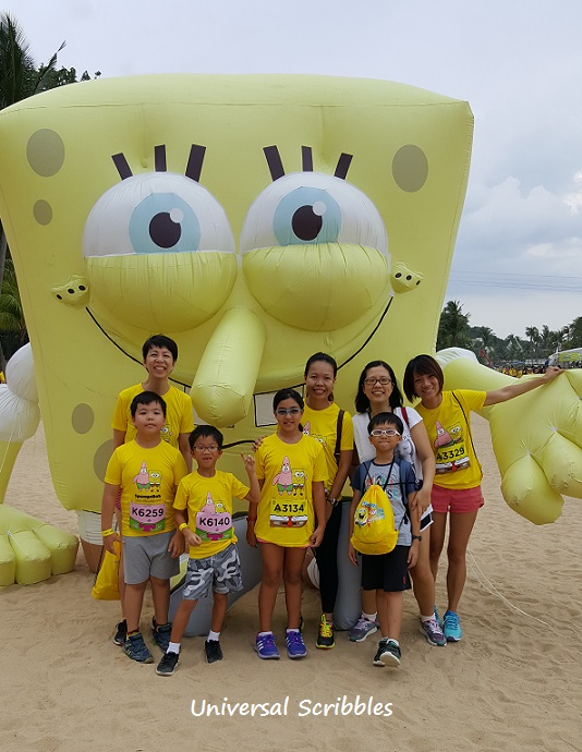 Asia's First SpongeBob Run – Singapore