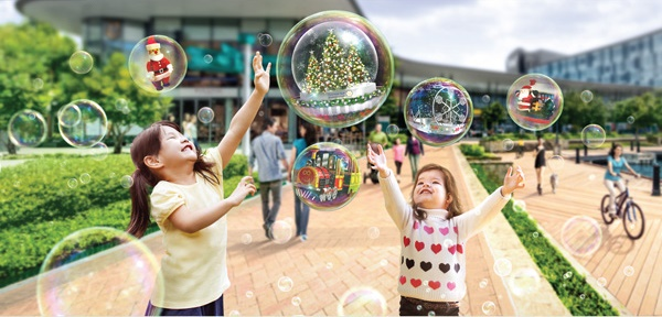 A Bubbly Affair – Christmas @ Quayside Isle!