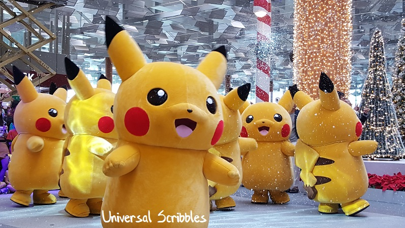 Holiday Season at Changi Airport: The Arrival of Pikachu