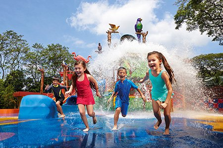 Water Play in Attractions
