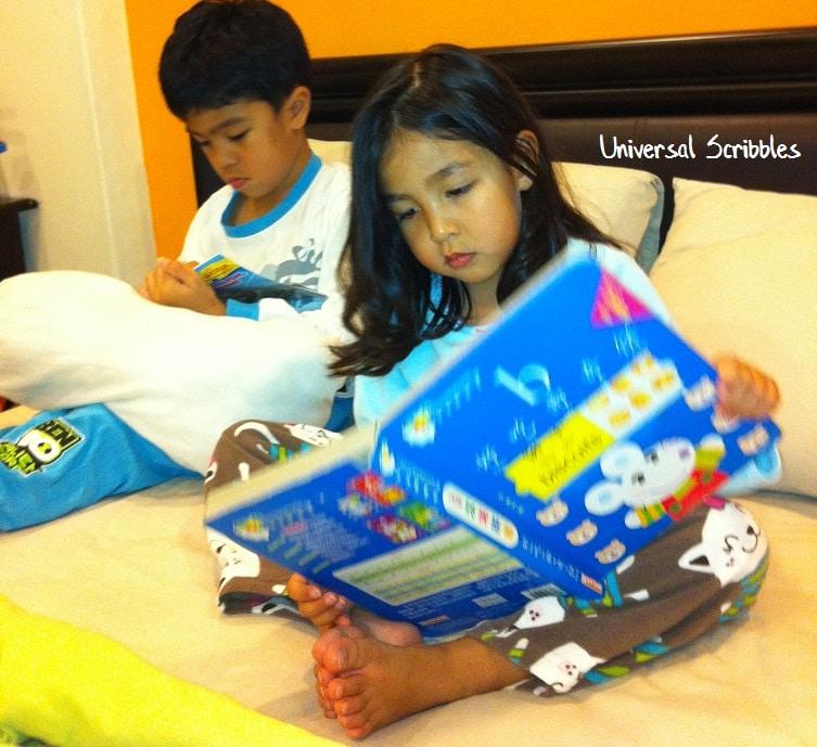 Reading Study Skills Lower Primary School Students