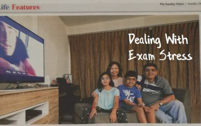 Featured in The Sunday Times – Dealing With Exam Stress