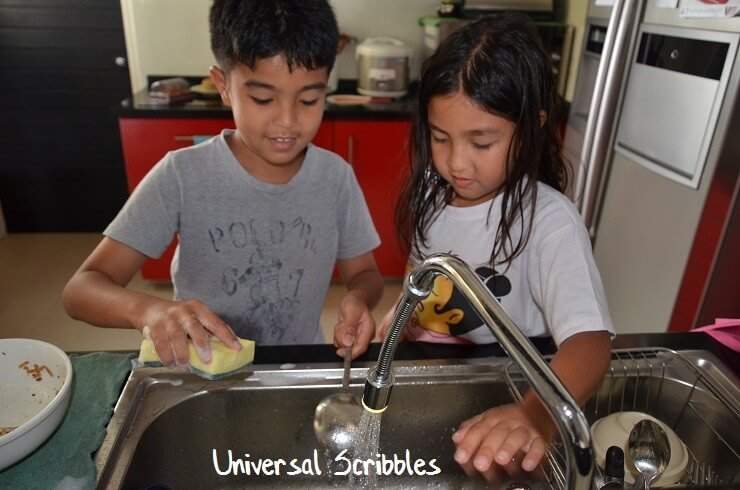 Housework and chores for kids