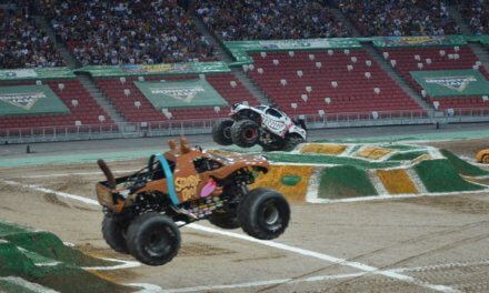 Monster Jam Singapore Rocks The Stadium