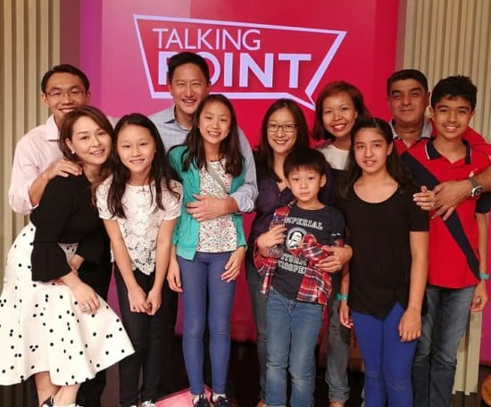 talking point about parenting singapore